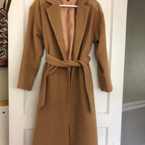 Top shop Camel Color Coat Size 2 ( fits like a 4)